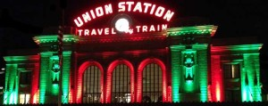 Union Station Christmas colors