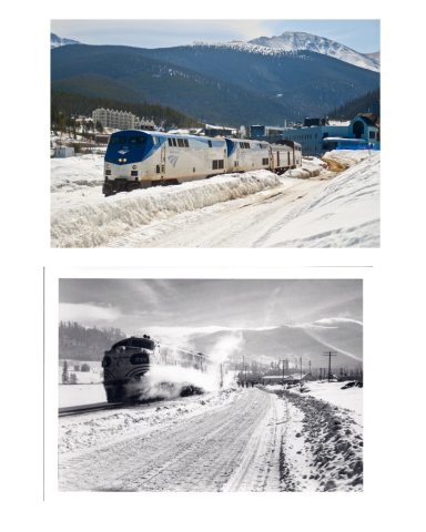 ski train then and now