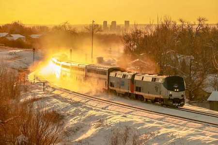 Winter Park Express in Arvada, CO Jan. 7, 2017