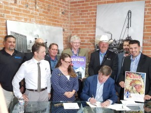 Bill Signing by Debbie Wagner