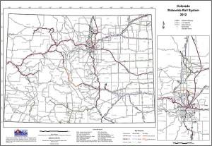 Railroad Map Of Colorado Colorado Rail Maps | Colorado Rail Passenger Association